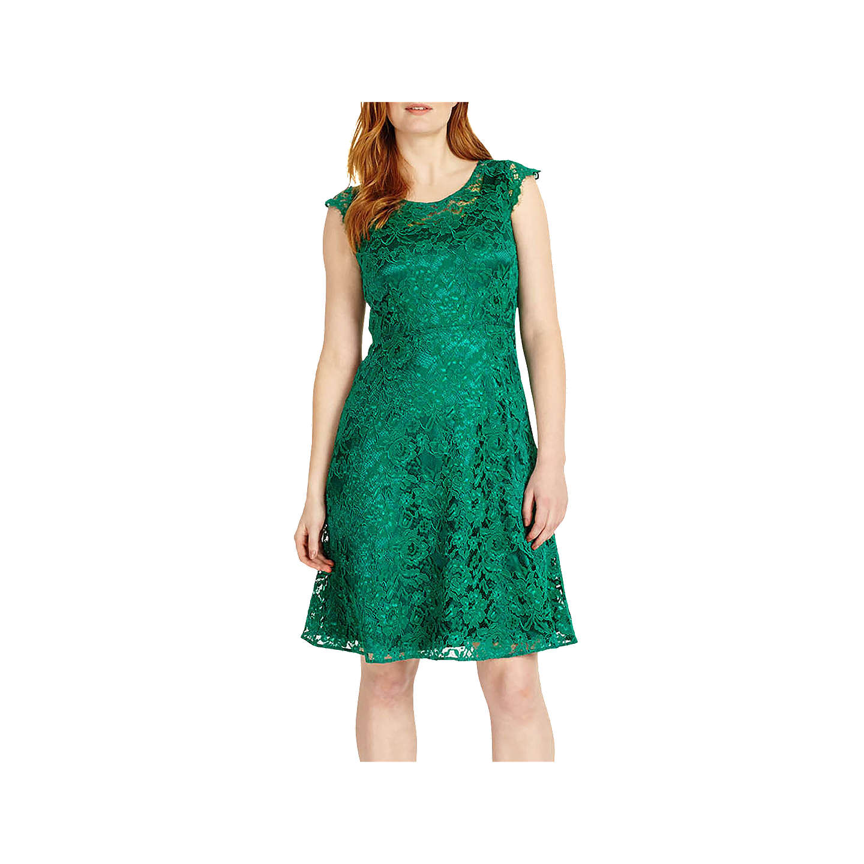 Offer: Studio 8 Allegra Dress, Green at John Lewis