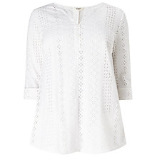 Buy Studio 8 Anita Top, White Online at johnlewis.com