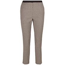 Buy Jaeger Geometric Print Trousers, Multi Online at johnlewis.com