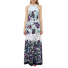 Buy Ted Baker Entangled Enchantment Ziloh Bow Detail Maxi Dress, Dark Blue Online at johnlewis.com