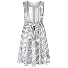 Buy Studio 8 Sheridan Dress, Ivory/Blue Online at johnlewis.com