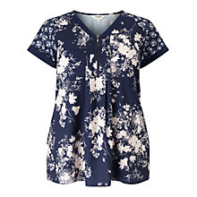 Buy Studio 8 Amaris Top, Navy Online at johnlewis.com
