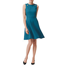 Buy L.K. Bennett Bayna Button Shift Dress Online at johnlewis.com