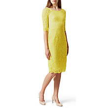 Buy Hobbs Miller Dress, Lemondrop Online at johnlewis.com