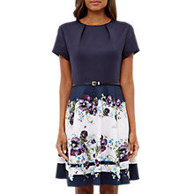 Buy Ted Baker Entangled Enchantment Stefh Skater Dress, Dark Blue Online at johnlewis.com