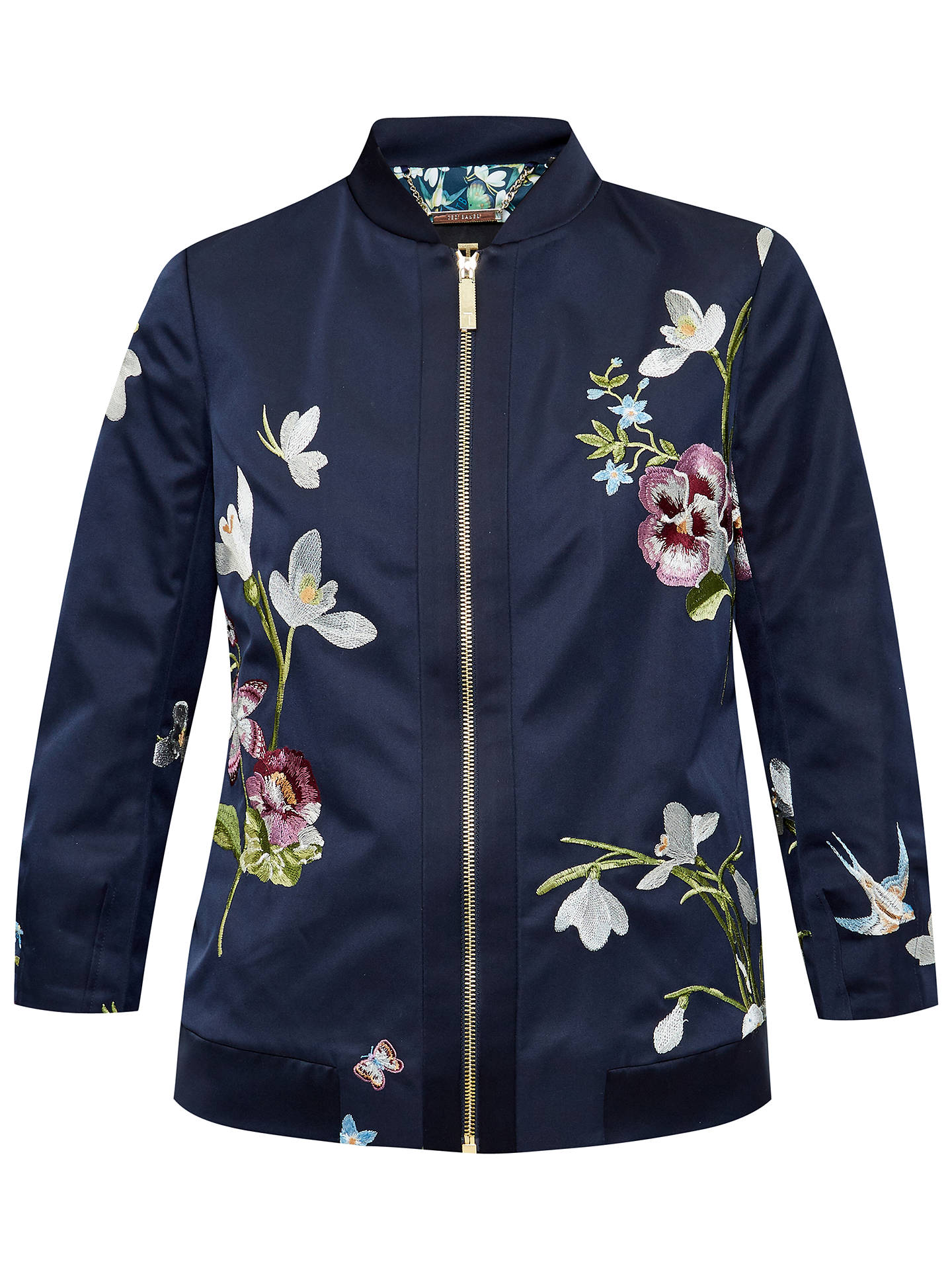 c4b54e5def02c ... Buy Ted Baker Spring Meadow Bloomah Bomber Jacket