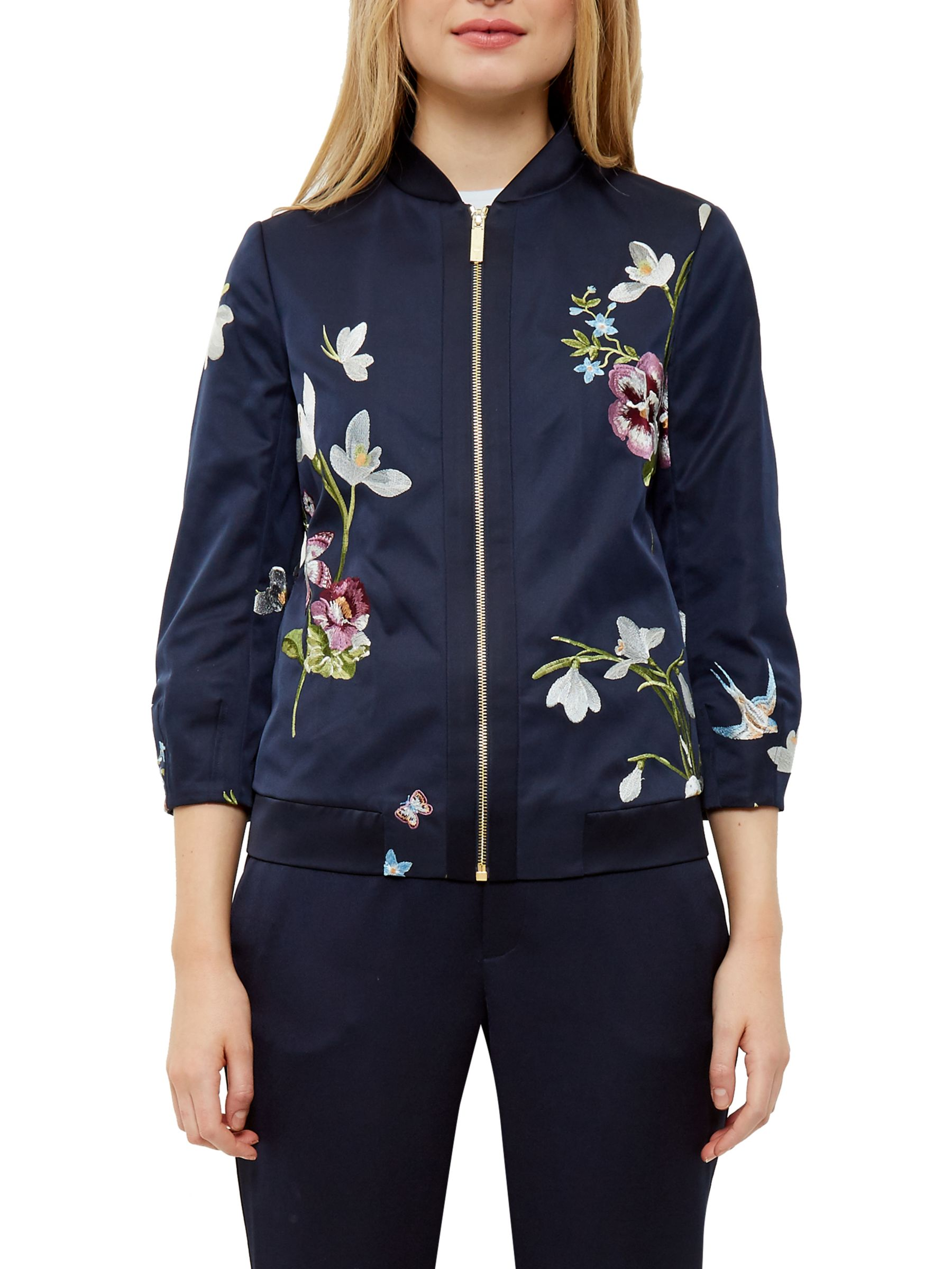 dab63b168e28d Ted Baker Spring Meadow Bloomah Bomber Jacket