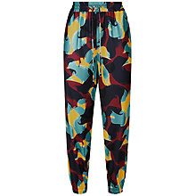Buy Jaeger Swirl Print Joggers, Multi Online at johnlewis.com