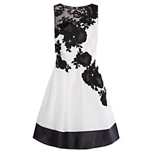 Buy Coast Mala Artwork Dress, Mono Online at johnlewis.com