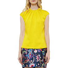 Buy Ted Baker Reela High Fold Neck Top Online at johnlewis.com