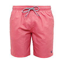 Buy Ted Baker Trigeo Geo Print Swim Shorts Online at johnlewis.com