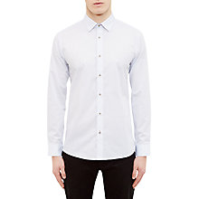 Buy Ted Baker Steevel Diamond Print Cotton Oxford Shirt Online at johnlewis.com
