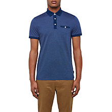 Buy Ted Baker Otto Birdseye Design Cotton Polo Shirt Online at johnlewis.com