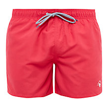 Buy Ted Baker Whoyou Drawstring Swim Shorts, Pink Online at johnlewis.com