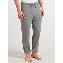 Buy BOSS Cuffed Lounge Pants, Grey Online at johnlewis.com