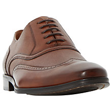 Buy Dune Park Lane Oxford Leather Shoes, Tan Online at johnlewis.com