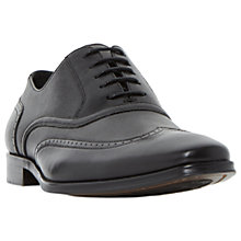 Buy Dune Park Lane Oxford Leather Shoes, Black Online at johnlewis.com