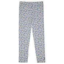 Buy Jigsaw Girls' Ditsy Dandelion Leggings, Grey Marl Online at johnlewis.com