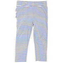 Buy Angel & Rocket Baby Striped Leggings, Blue Online at johnlewis.com