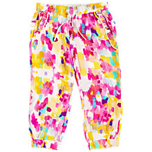 Buy Angel & Rocket Girls' Printed Trousers, Bright Pink Online at johnlewis.com