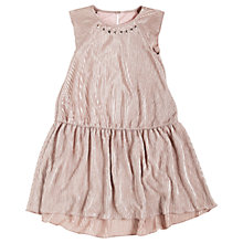 Buy Angel & Rocket Girls' Crinkle Drop Waist Dress, Pink Online at johnlewis.com