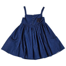 Buy Angel & Rocket Girls' Denim Swing Dress, Blue Online at johnlewis.com