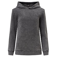 Buy John Lewis Children's Hooded Sweatshirt, Grey Marl Online at johnlewis.com