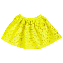 Buy Angel & Rocket Girls' Scuba Skirt, Yellow Online at johnlewis.com