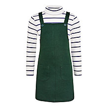 Buy John Lewis Girls' Pinafore Dress and Jumper Set Online at johnlewis.com