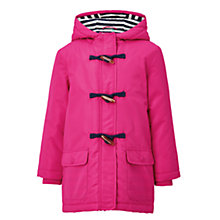 Buy John Lewis Girls' Jersey Lined Mac Coat Online at johnlewis.com