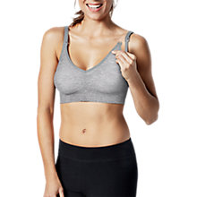Buy Bravado Body Silk Seamless Yoga Nursing Bra, Dove Heather Online at johnlewis.com