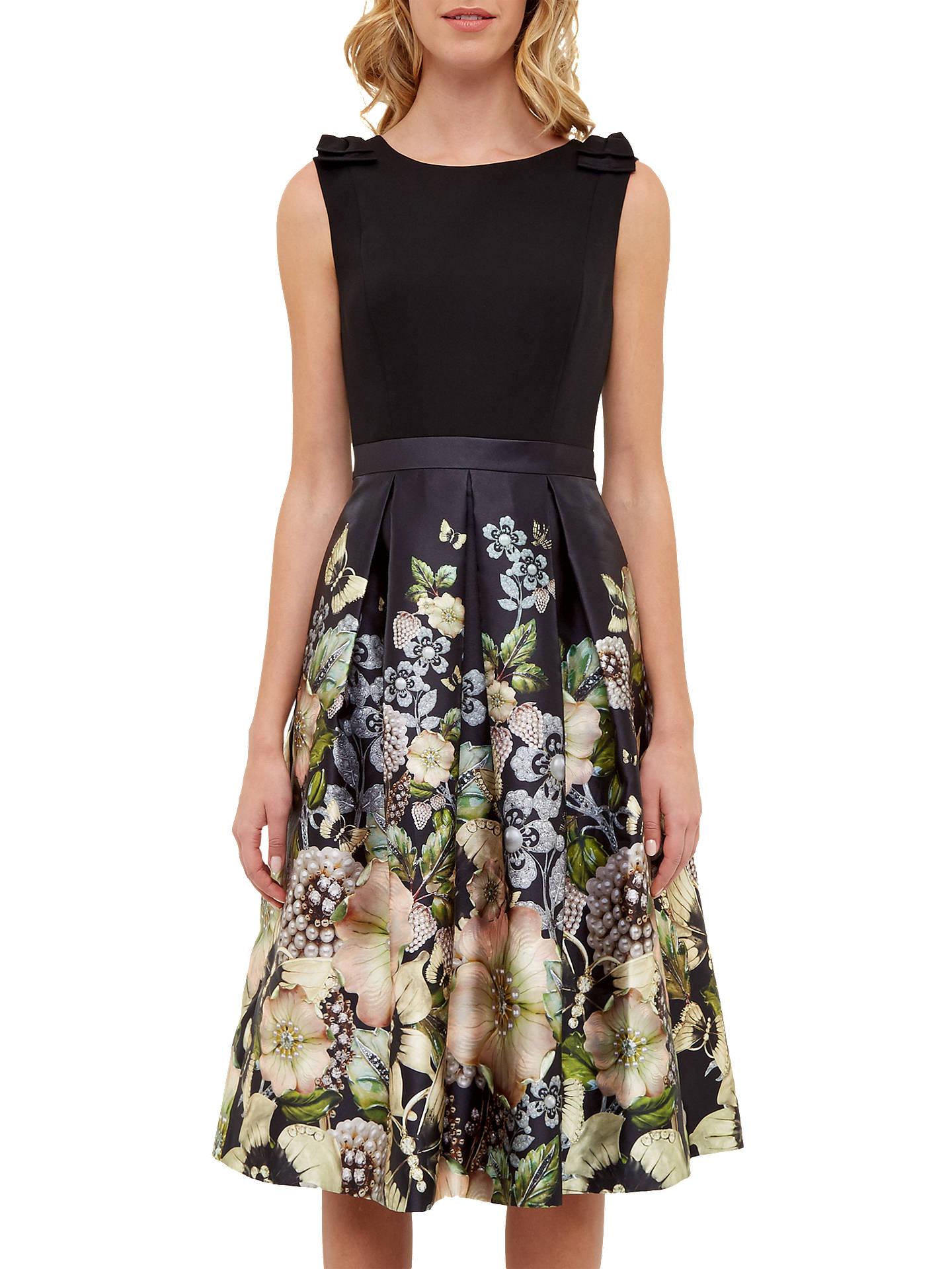 ee7ef242e1f2 Buy Ted Baker Felcity Gem Gardens Pleated Dress