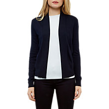 Buy Ted Baker Heelia Entangled Enchantment Wrap Cardigan, Dark Blue Online at johnlewis.com