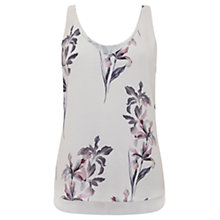 Buy Mint Velvet Gemima Floral Print Cami Top, Multi Online at johnlewis.com