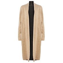 Buy Phase Eight Gianina Knitted Coat, Stone Online at johnlewis.com
