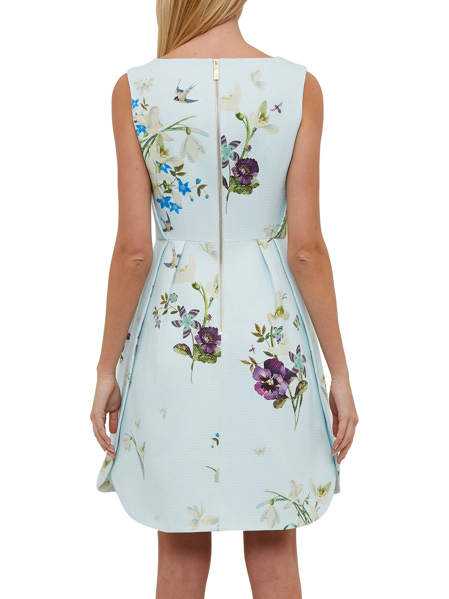 d19bf5e67d5 ... Buy Ted Baker Spring Meadow Woven Skater Dress