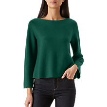 Buy Hobbs Harbour Jumper, Leaf Green Online at johnlewis.com