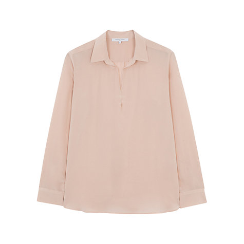 Buy Gerard Darel Cesar Blouse, Nude Online at johnlewis.com