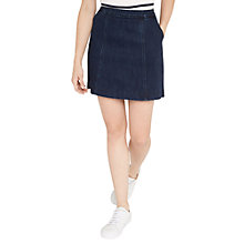 Buy Oasis Easy Denim Skirt, Dark Wash Online at johnlewis.com