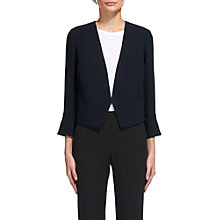 Buy Whistles Split Cuff Crop Jacket, Navy Online at johnlewis.com