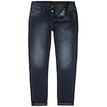 Buy Ted Baker Shake Straight Fit Jeans, Dark Wash Online at johnlewis.com