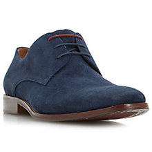 Buy Dune Richmonds Square Toe Suede Derby Shoes Online at johnlewis.com