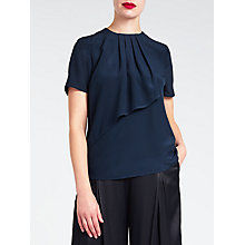 Buy Bruce by Bruce Oldfield Short Sleeve Drape Top Online at johnlewis.com