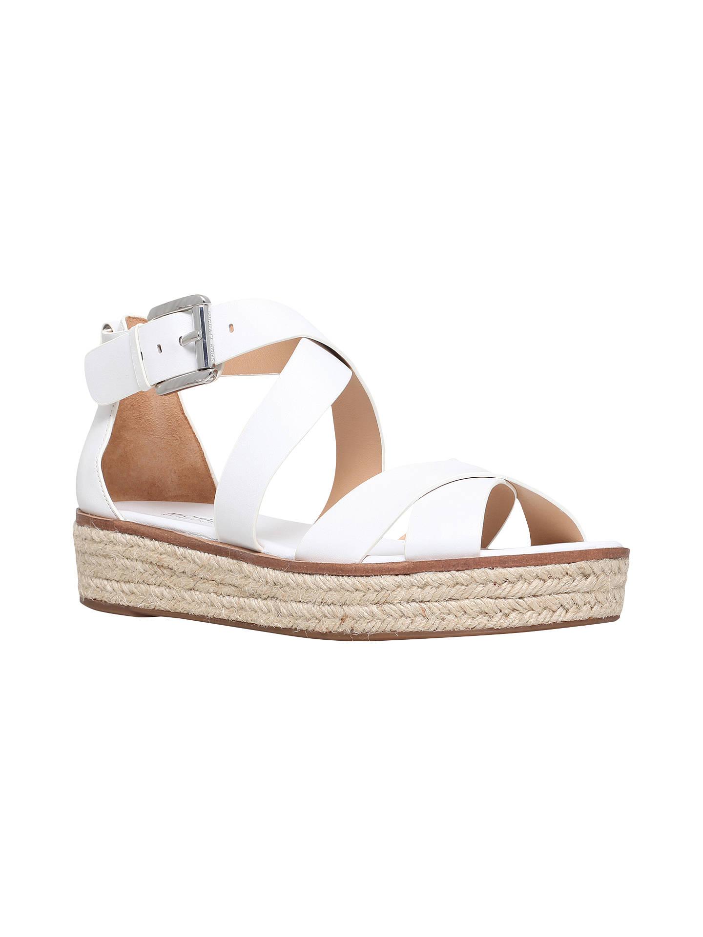 ba29118f5868 MICHAEL Michael Kors Darby Flatform Sandals at John Lewis   Partners