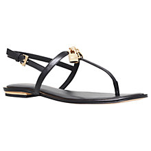 Buy MICHAEL Michael Kors Suki Toe Post Sandals Online at johnlewis.com