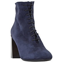 Buy Dune Ochre Lace Up Ankle Boots Online at johnlewis.com