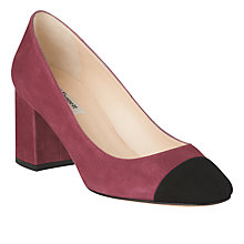 Buy L.K. Bennett Francesca Block Heeled Court Shoes Online at johnlewis.com