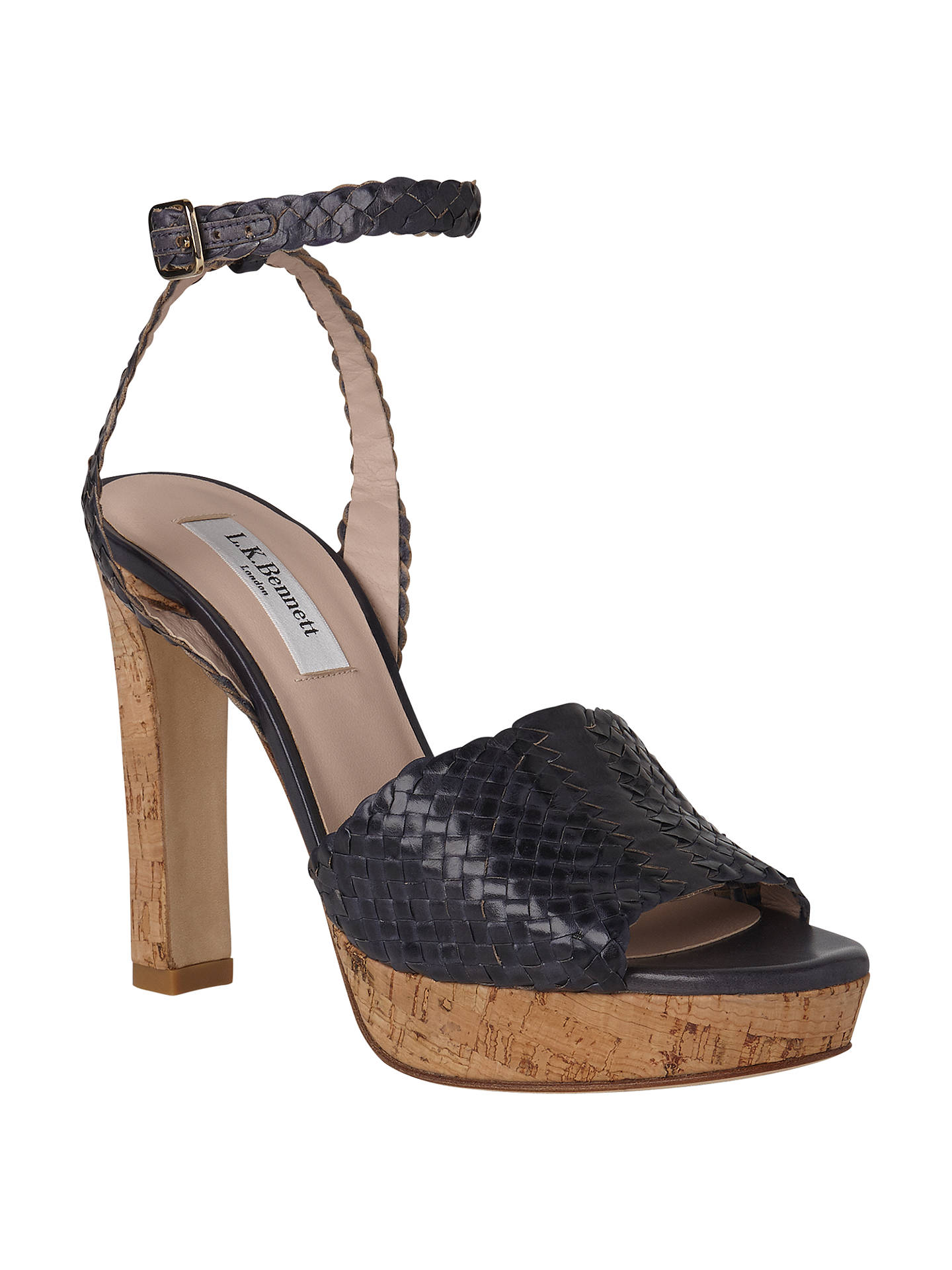 3e68c8226 L.K. Bennett Margot Block Heeled Sandals at John Lewis   Partners
