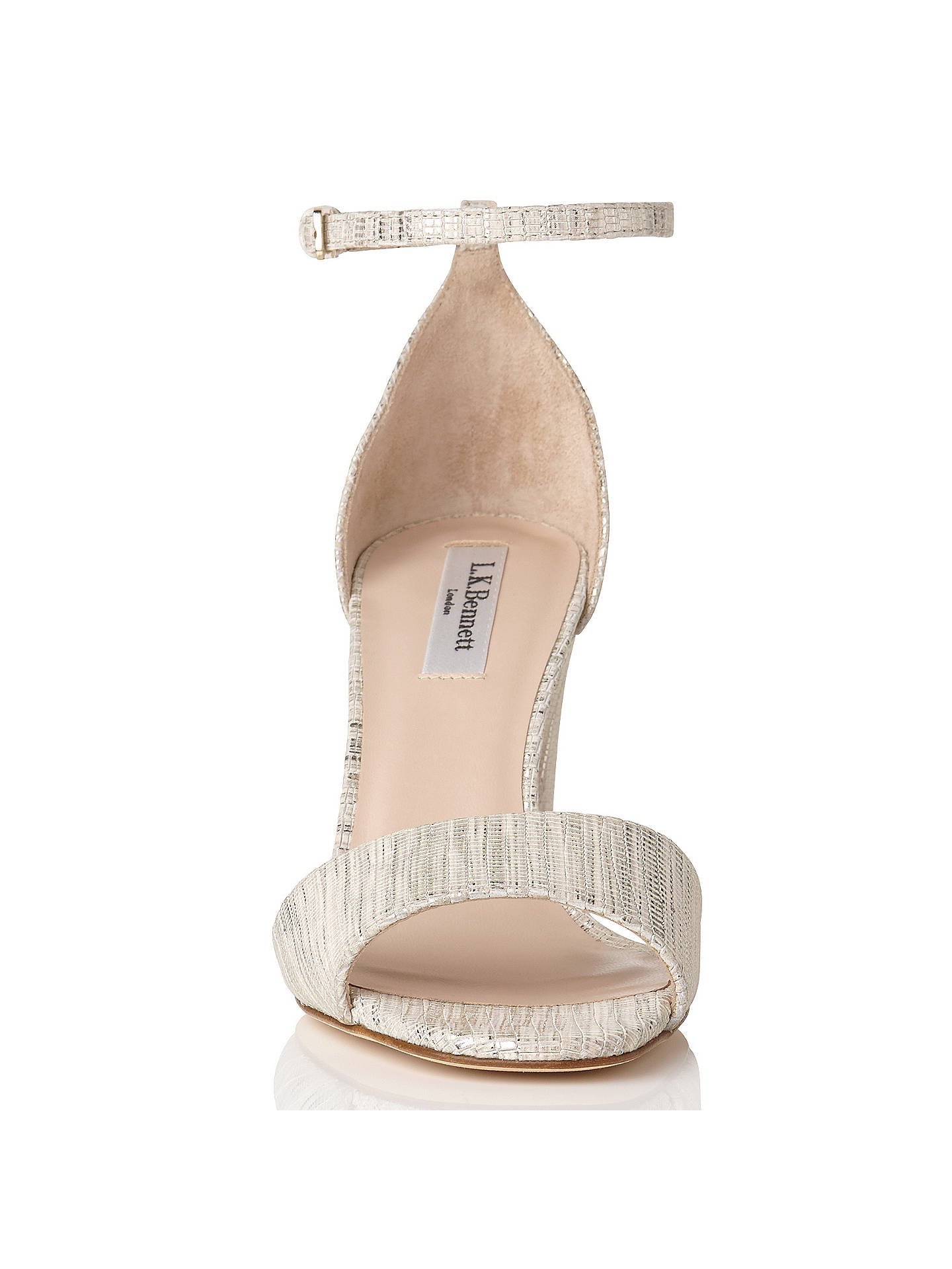 ec7b2c2d0f44 L.K. Bennett Helena Block Heeled Sandals at John Lewis   Partners