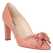 Buy L.K. Bennett Isla Bow Pointed Toe Court Shoes Online at johnlewis.com
